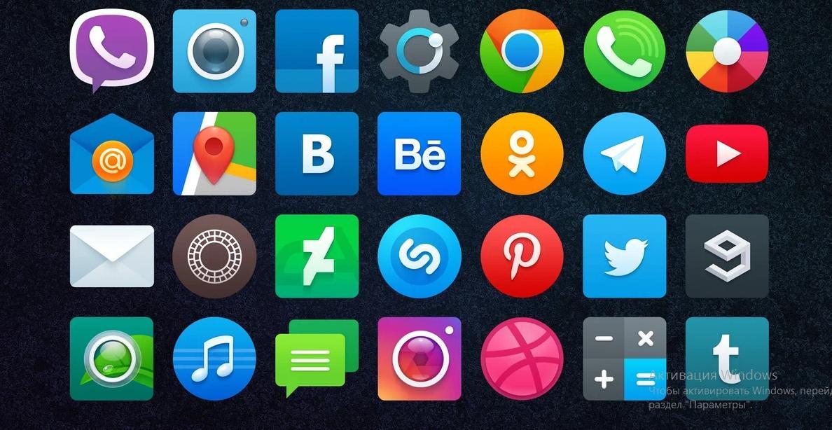 Как изменить значки на рабочем столе Андроид