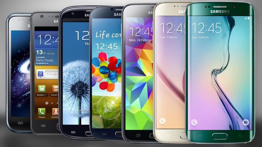 Сравнение телефонов Samsung