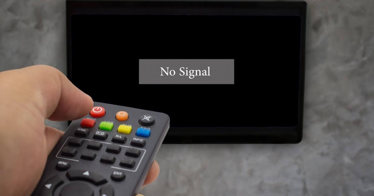 Почему нет сигнала на цифровом телевидении сегодня