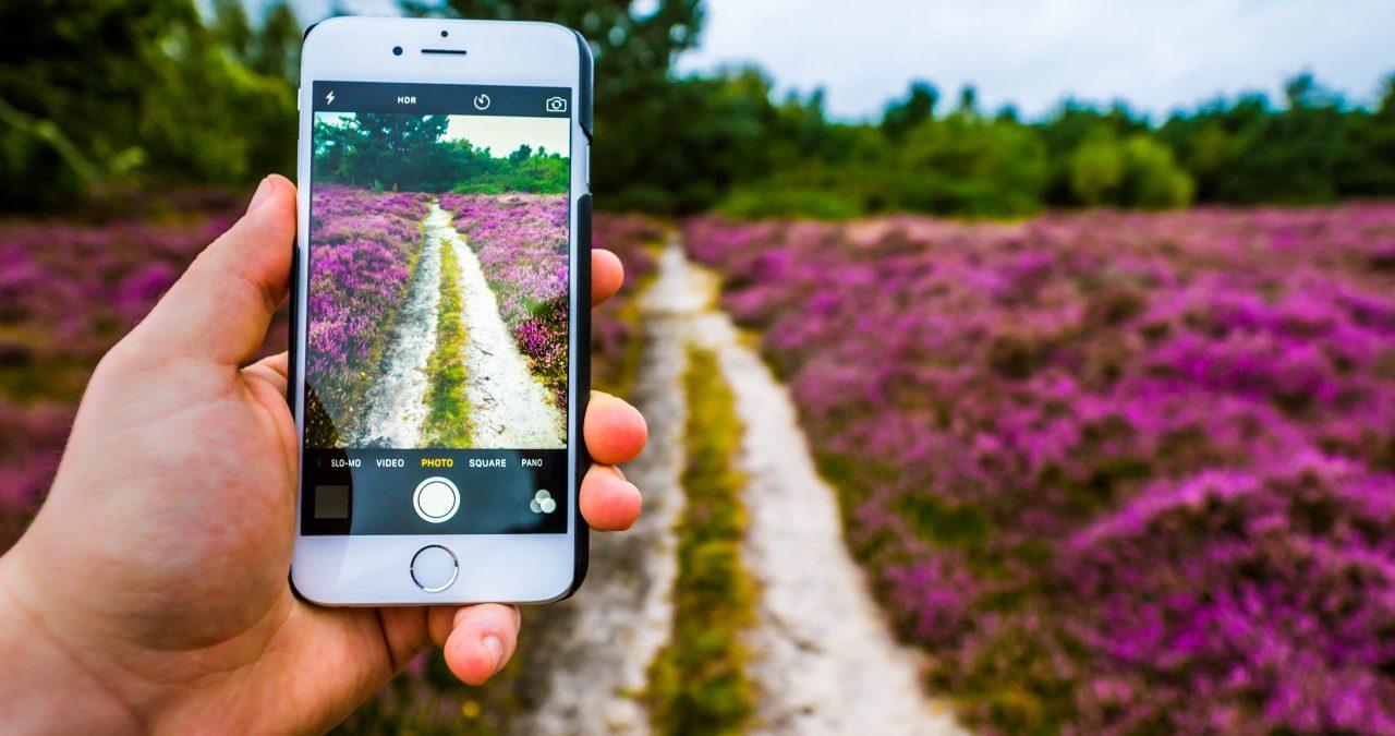 Как отзеркалить фото на iPhone