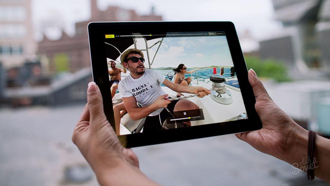 Как закачать фильмы на iPad
