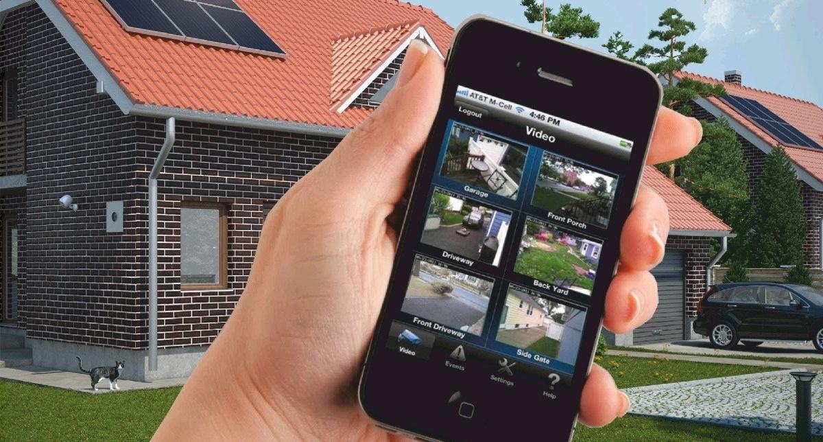 Просмотр камер видеонаблюдения через телефон