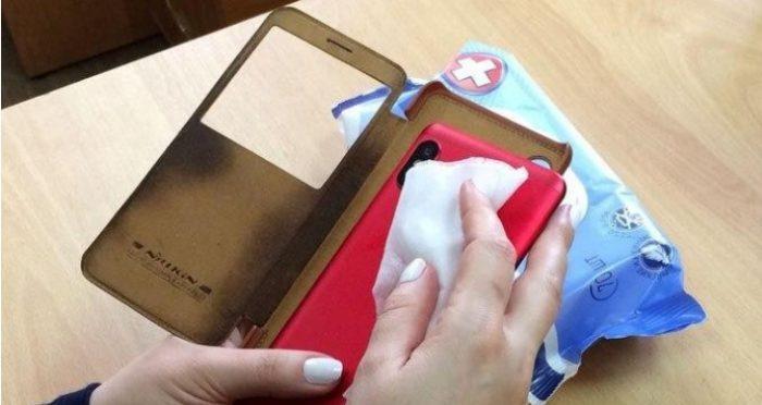 Чем обрабатывать мобильные телефоны от коронавируса