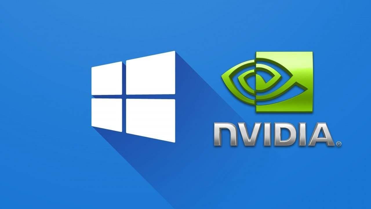 Нет панели управления Nvidia на Windows 10
