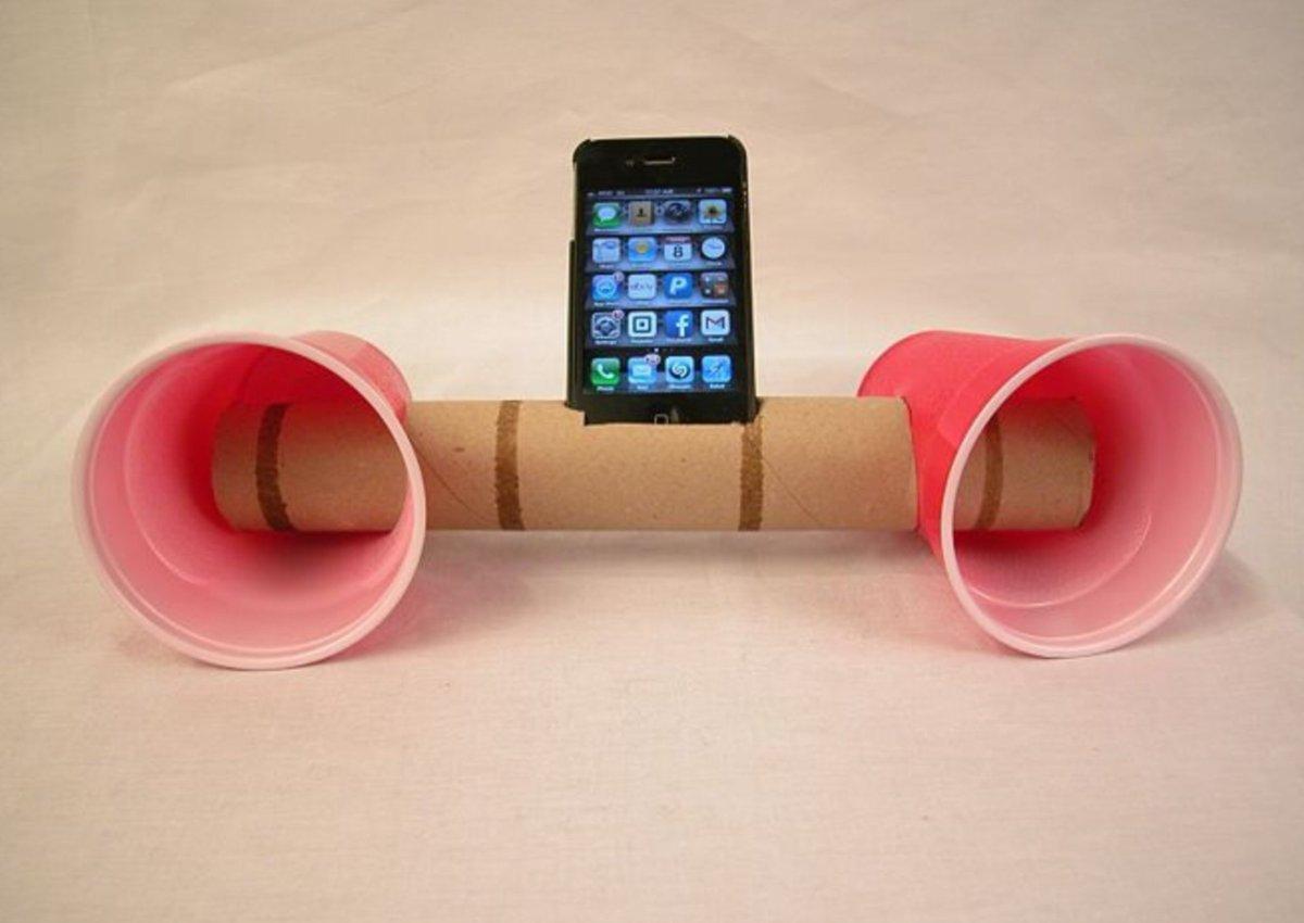 Колонка для телефона своими руками