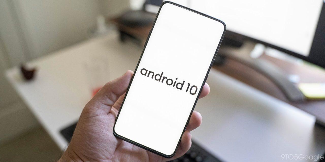 Как установить Android 10