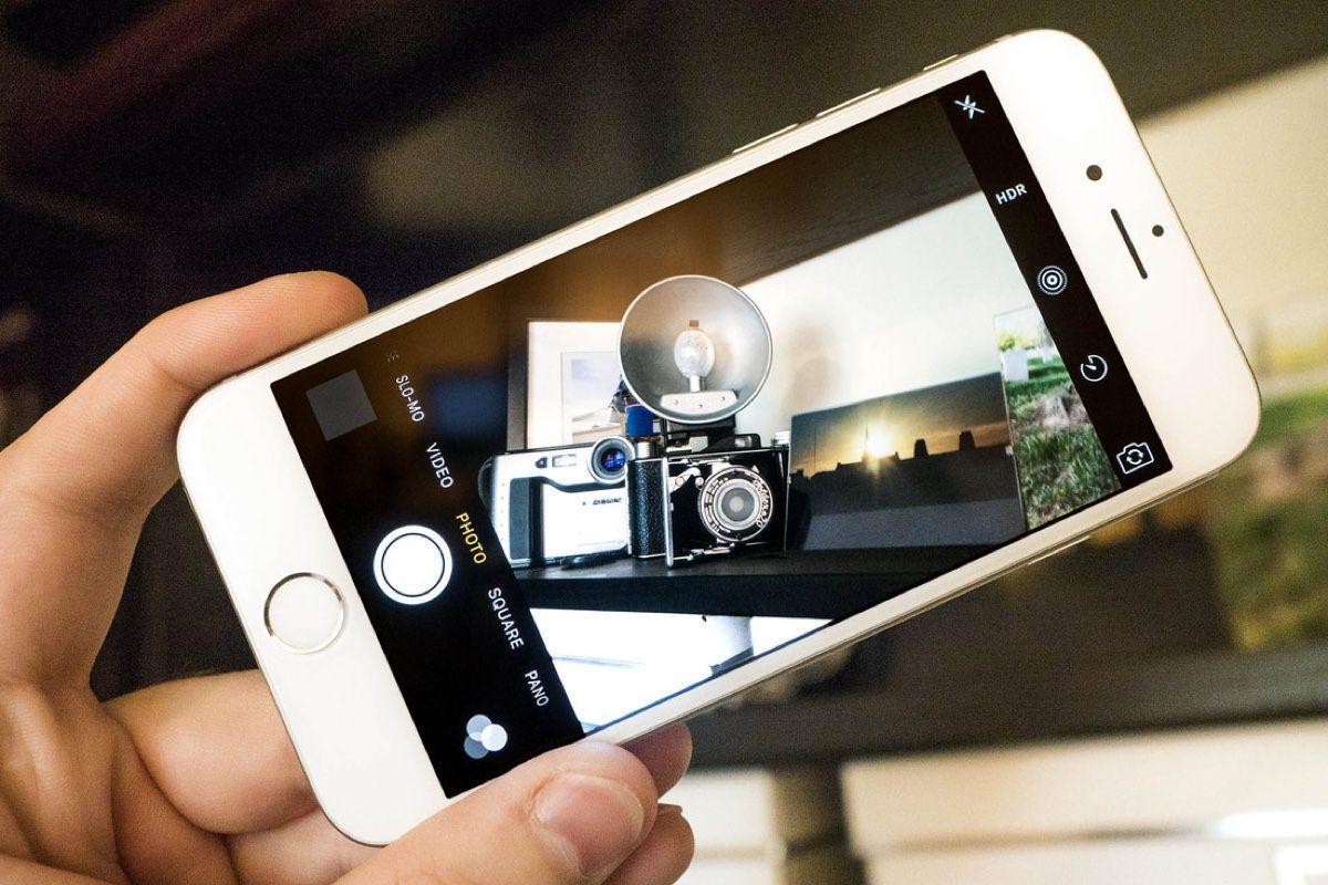 Почему не работает камера на Айфоне