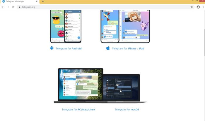 Установка Телеграмм на ПК с ОС Windows
