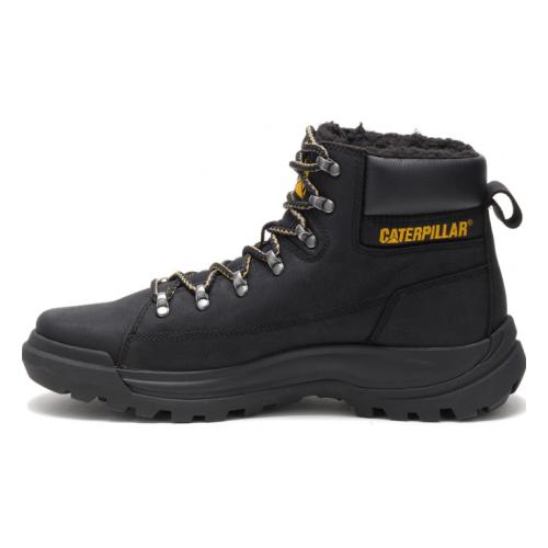 Ботинки Caterpillar BRAWN FUR мужские, цвет черный, размер 7,5 - купить в интернет магазине с доставкой, цены, описание, характеристики, отзывы
