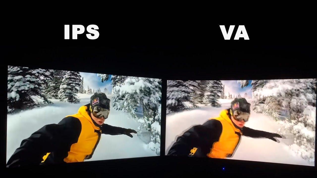 Что лучше, матрица VA или IPS