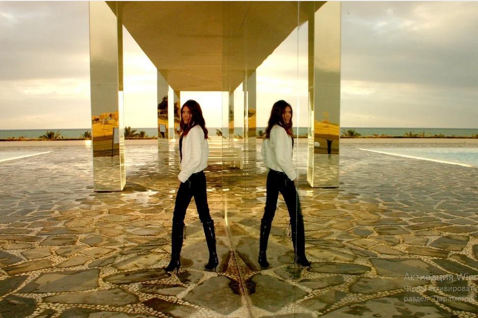 Как отключить зеркальное отображение на Айфоне
