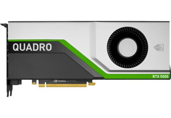Фото № 1 PNY PCI-Ex NVIDIA Quadro RTX5000 16GB GDDR6 (256bit) (3 x DisplayPort, 1 х VirtualLink) (VCQRTX5000-BSP)