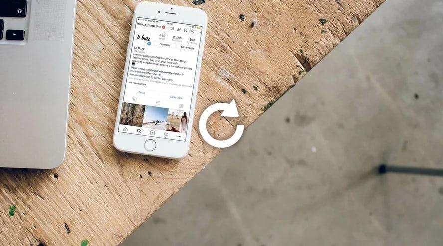 Как восстановить страницу в Инстаграме