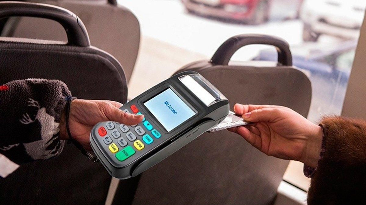 Как оплатить проезд в автобусе телефоном