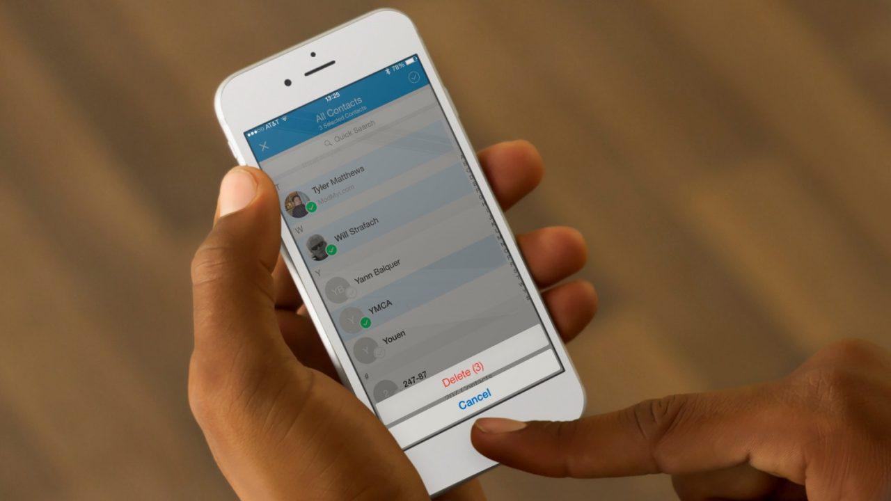 Как на Айфоне сохранить контакты на телефон