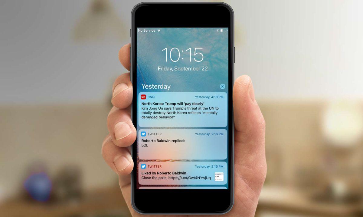 Почему не приходят уведомления на Айфон