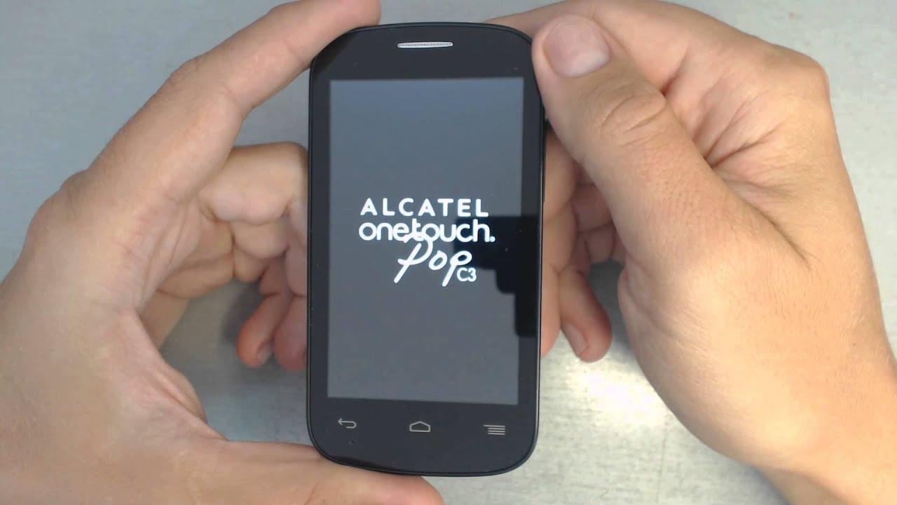 Как разблокировать телефон Alcatel