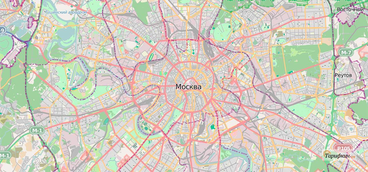 Изучаем зону покрытия Yota в Москве и Московской области