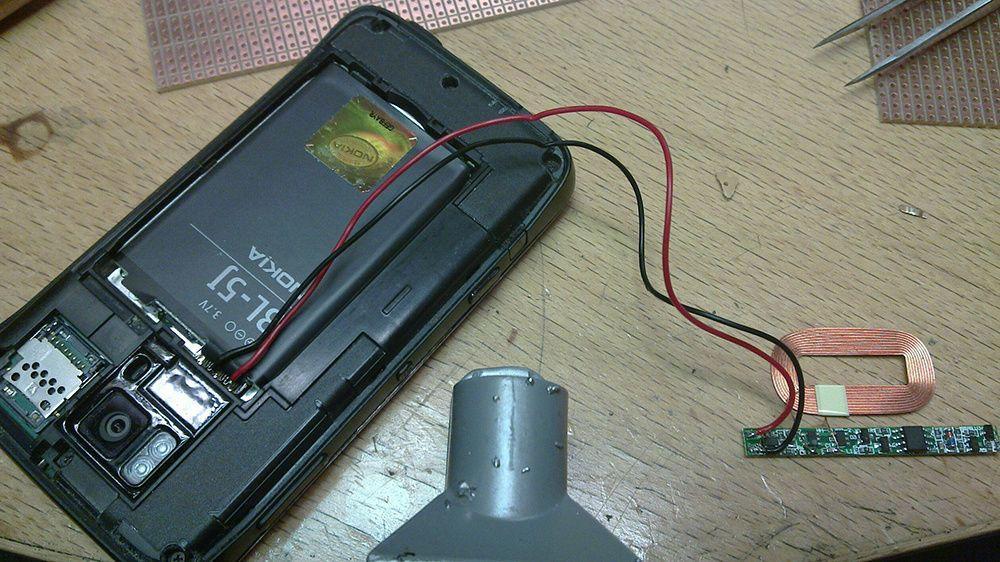 Включение телефона без аккумулятора через USB