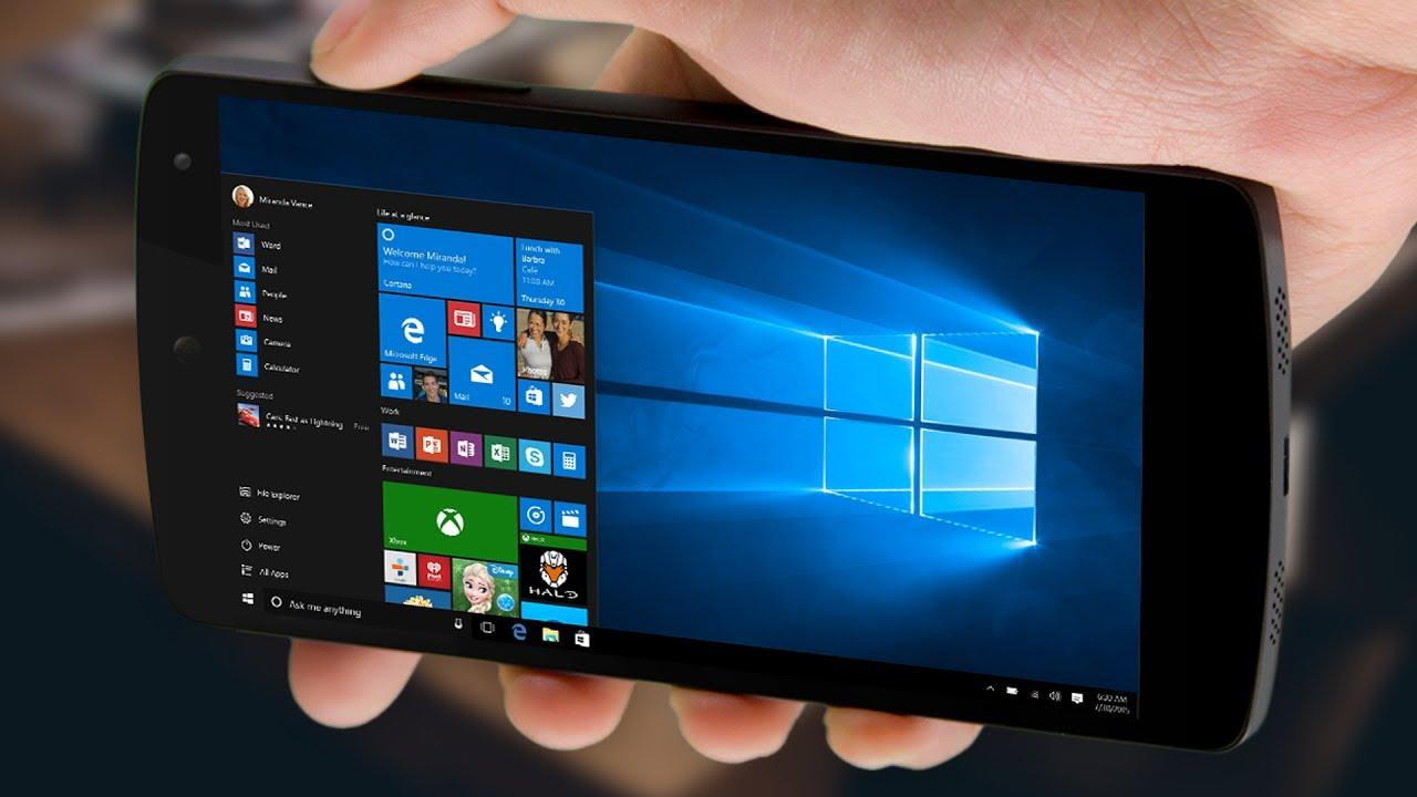 Как установить Windows на Андроид