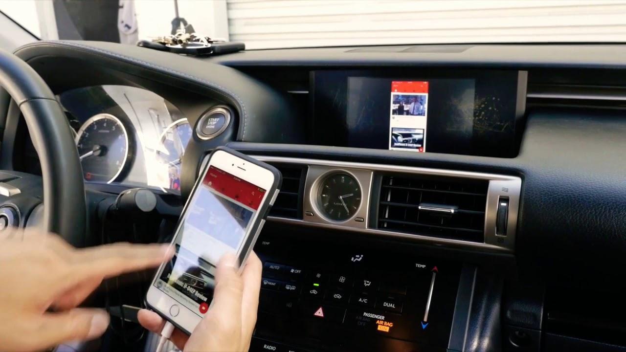 Как подключить Айфон к машине