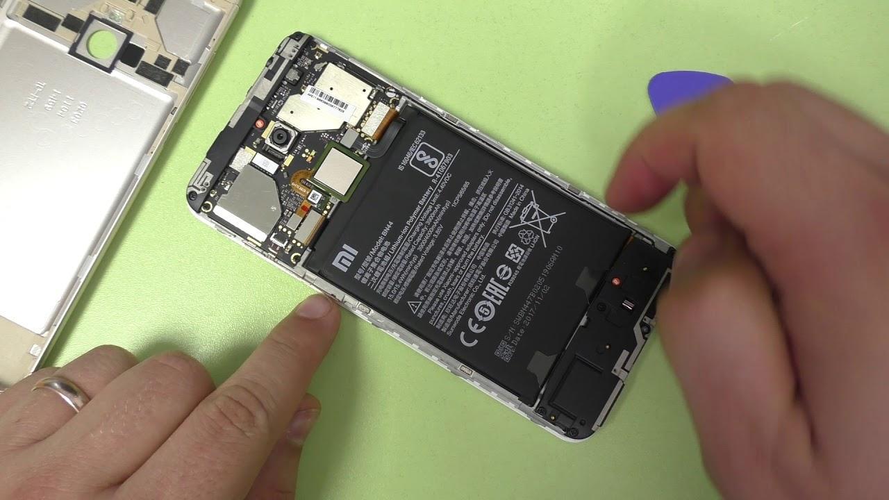 Как разобрать телефон Xiaomi Redmi