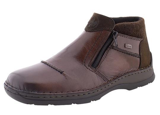 Мужские зимние ботинки Rieker (Рикер) 05389-25 фото 1