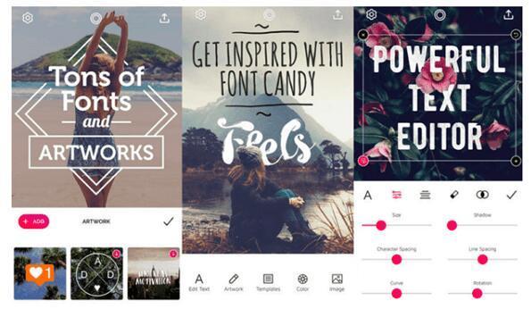 Приложение для изменения шрифтов в Инстаграм с красивым художественным оформлением