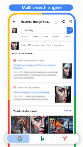 Reverse Image Search (Multi-Engines) 5.3.5 Download Android APK | Aptoide