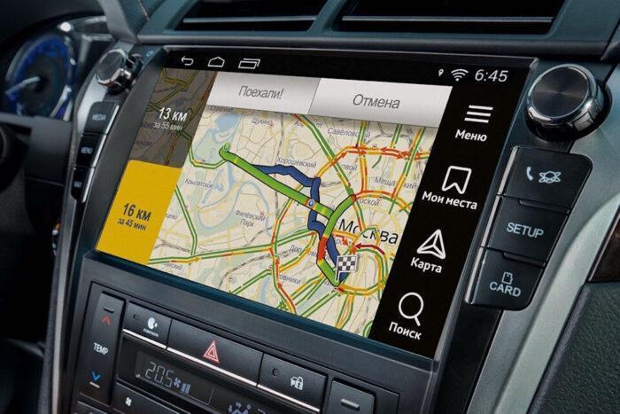 Как подключить навигатор в телефоне