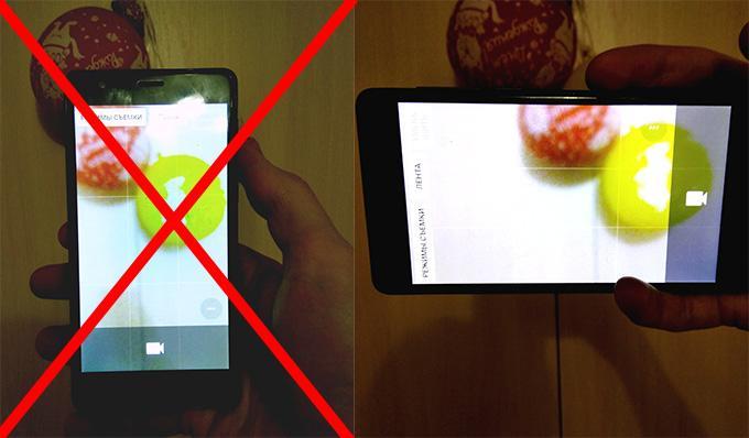 Как правильно снимать видео на телефон