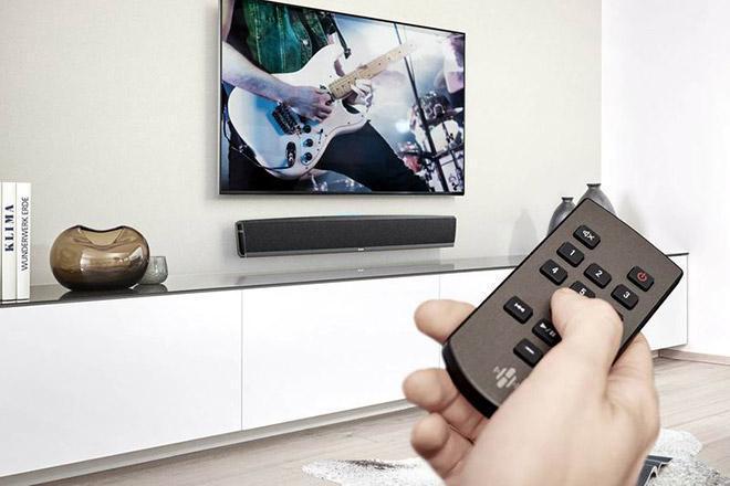 Саундбуфер и телевизор