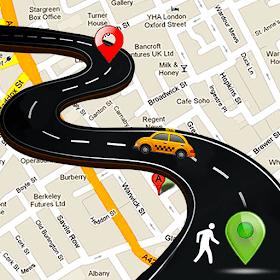 Скачать Бесплатные GPS-карты - навигация и поиск мест [APK] v1.0 на Андроид бесплатно