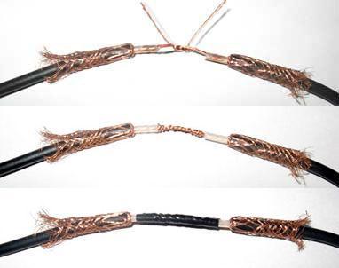 Скручивание антенного шнура