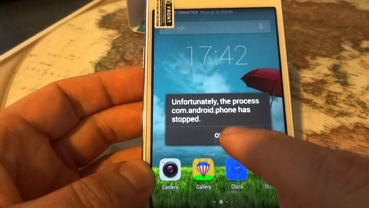 Как исправить ошибку com android phone