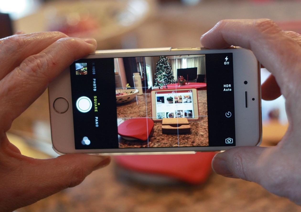новое приложение для айфона фото тыльной стороне