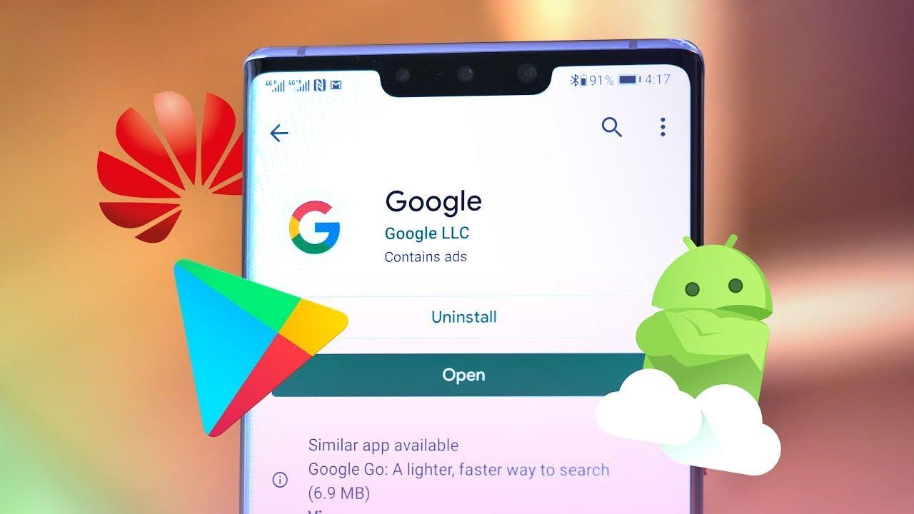 Приложения Google Play для Huawei